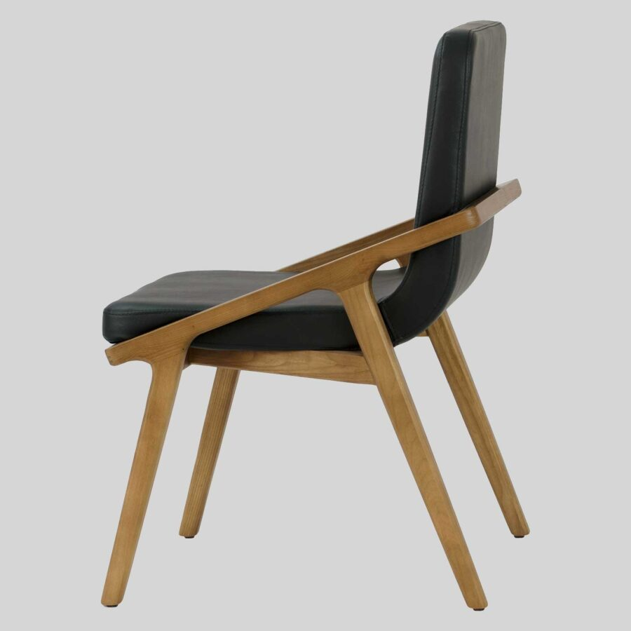 Ferguson Upholstered Chair - Walnut