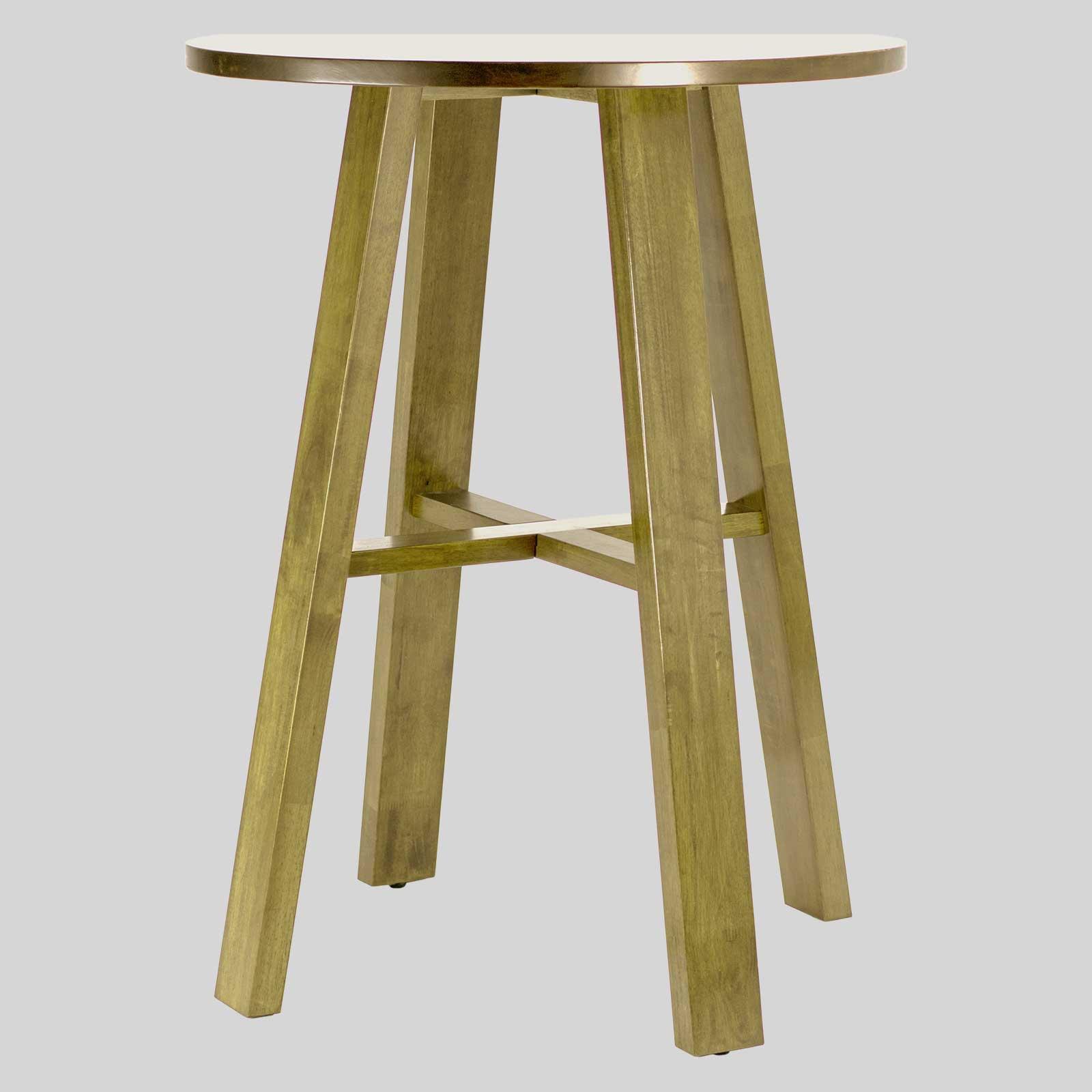 Funk Wooden Bar Table   Light Oak