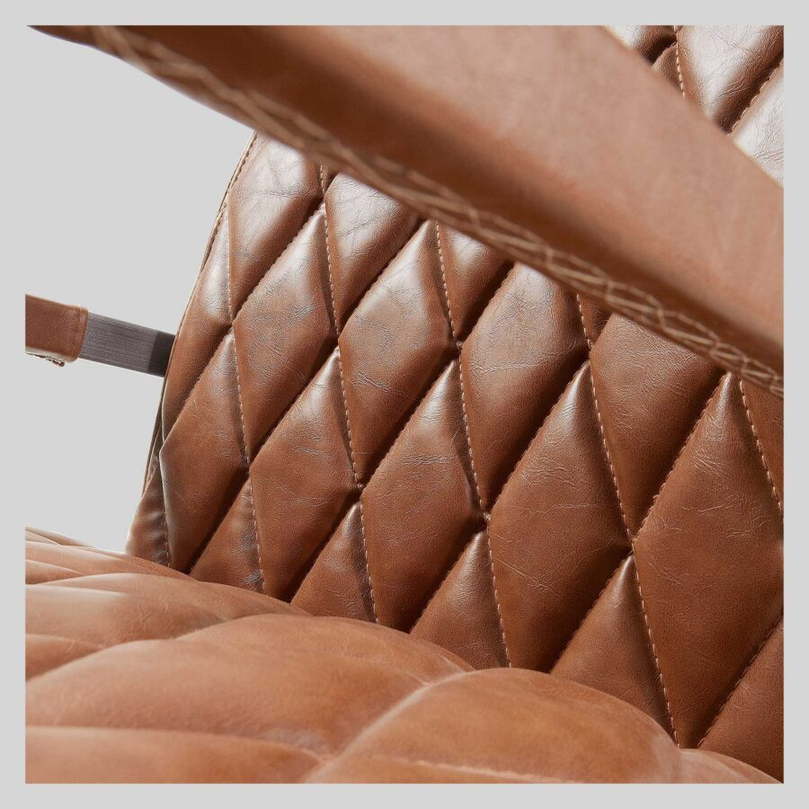 Dale Contemporary Occasional Armchair-Brown
