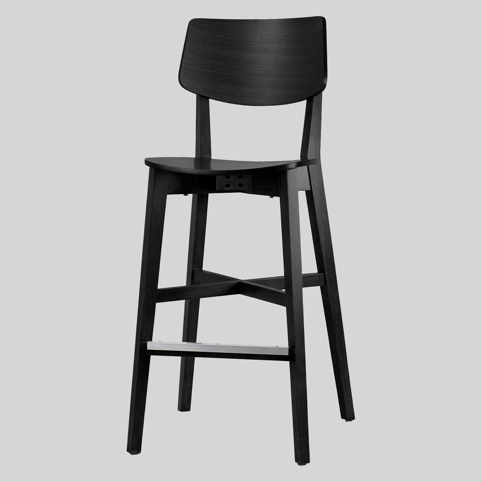 Timber High Back Bar Stool Vinnix Concept Collections