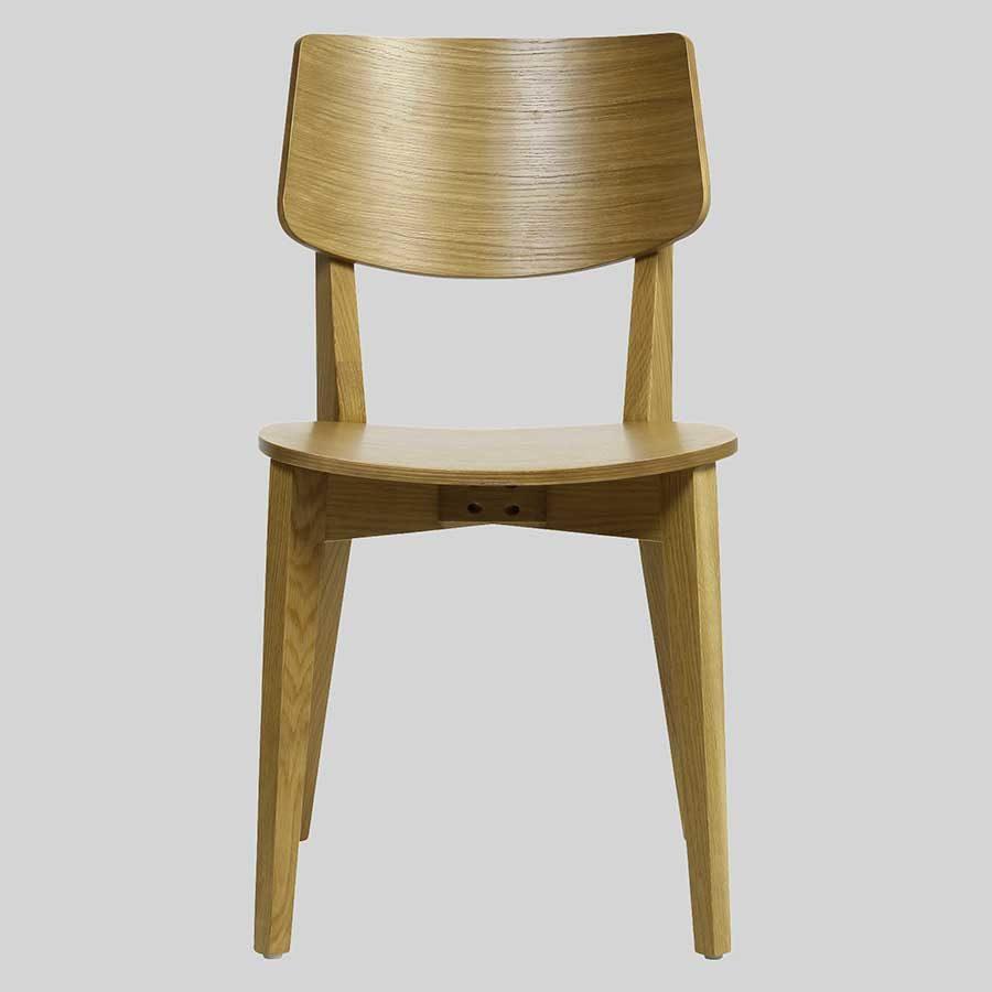 Vinnix Chair - Light Oak - Timber Seat