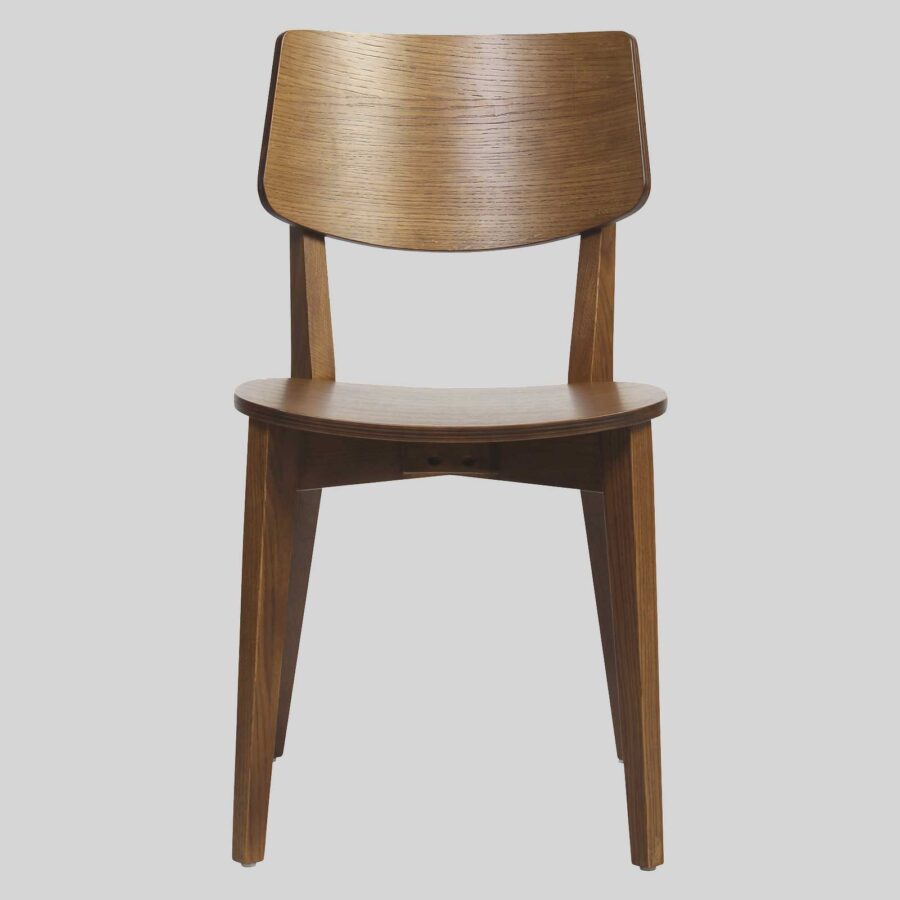 Vinnix Chair - Light Walnut - Timber U Seat
