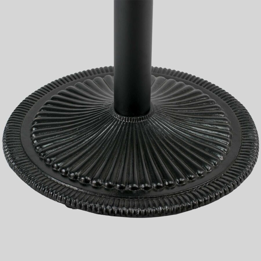 Victoria Cast Iron Table Base - Black