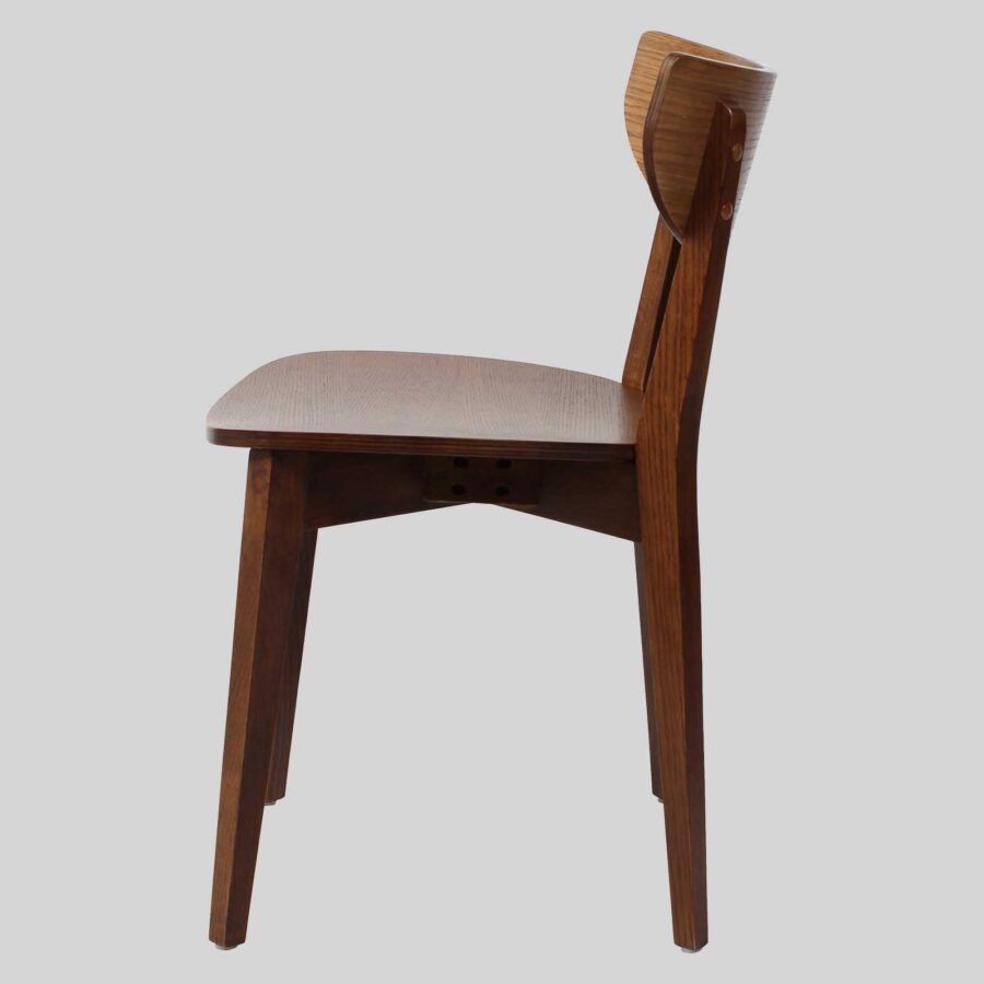 Romano Side Chair - Walnut