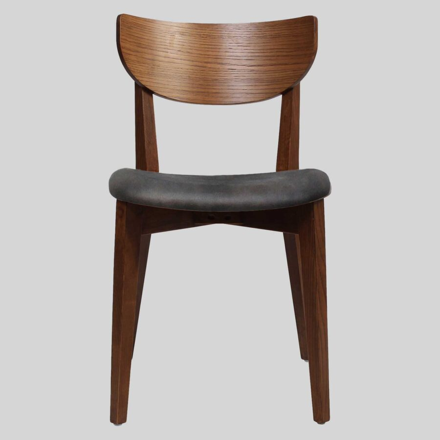 Romano Side Chair - Walnut with Eastwood Slate Seat