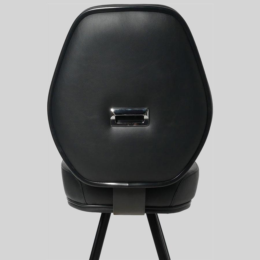 Diamond Black 4-Leg Gaming Stool