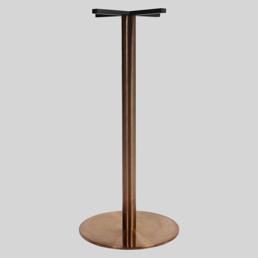 Carlita Bar Table Base - Copper