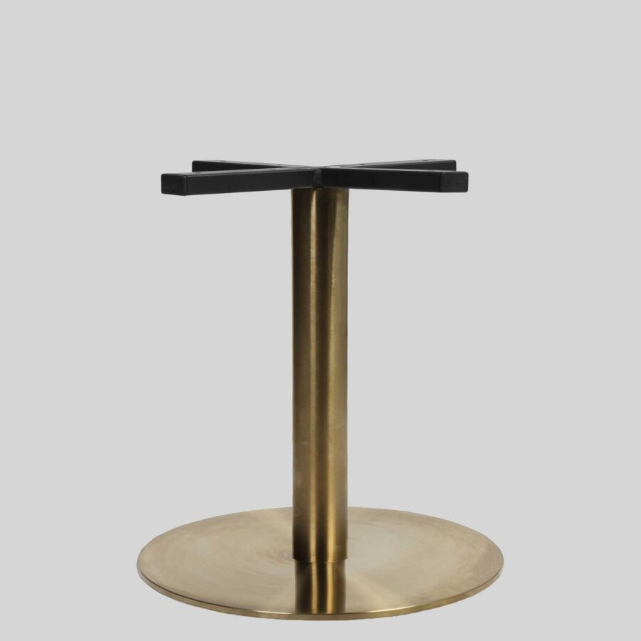 Carlita Coffee Table Base - Brass