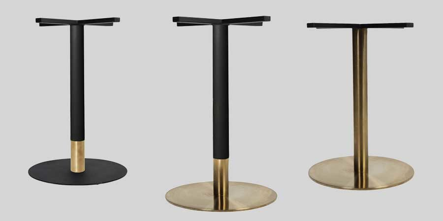 Carlita Copper and Brass Table Bases