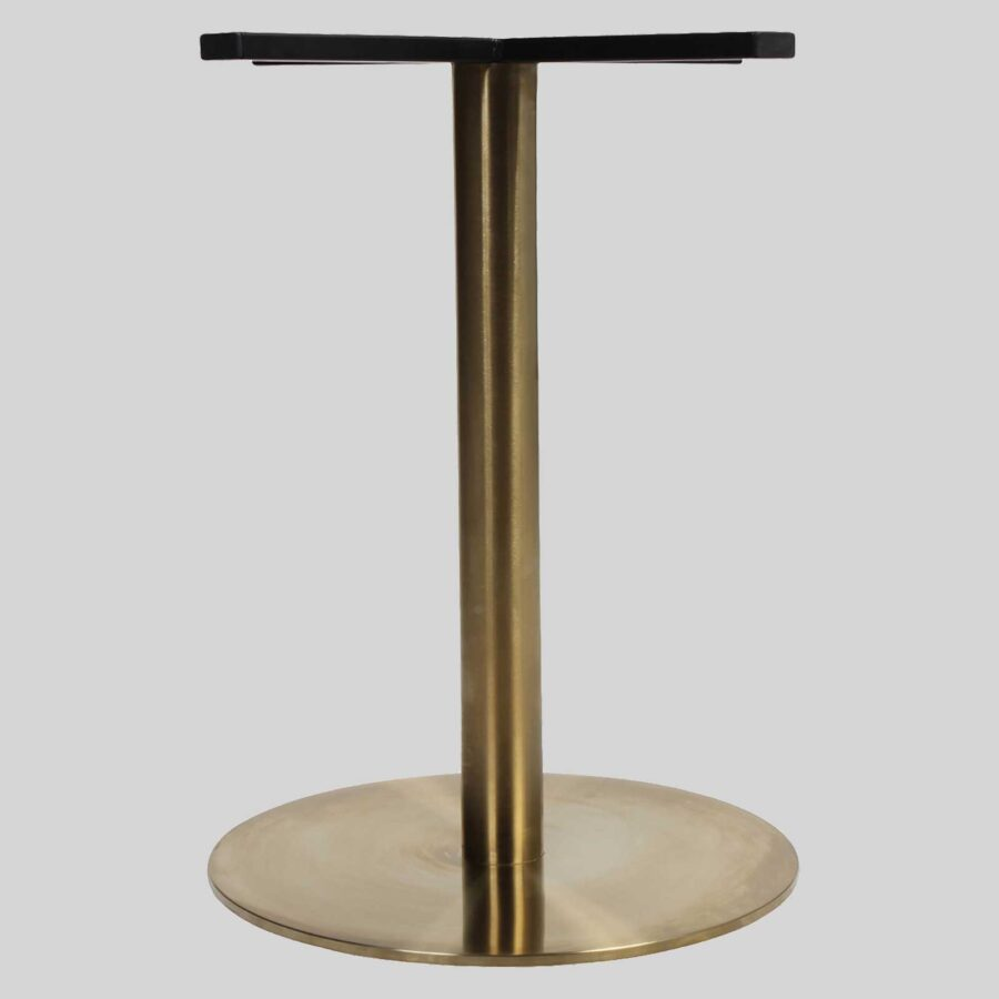 Carlita Dining (54) Table Base - Brass