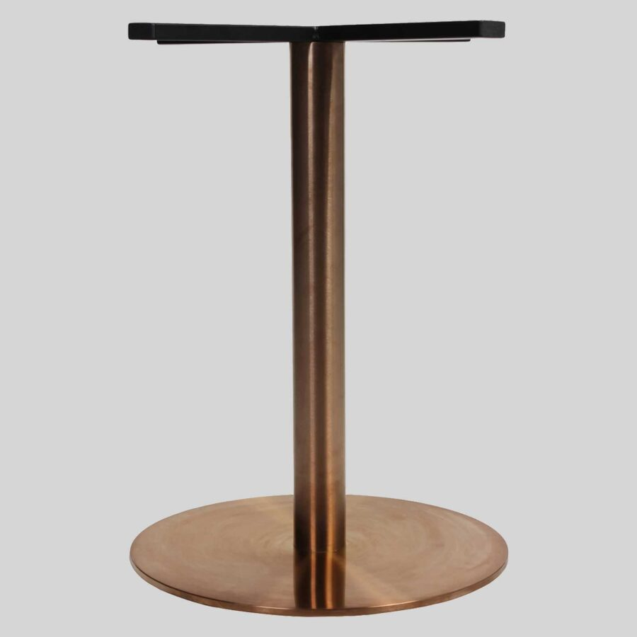 Carlita Dining (54) Table Base - Copper