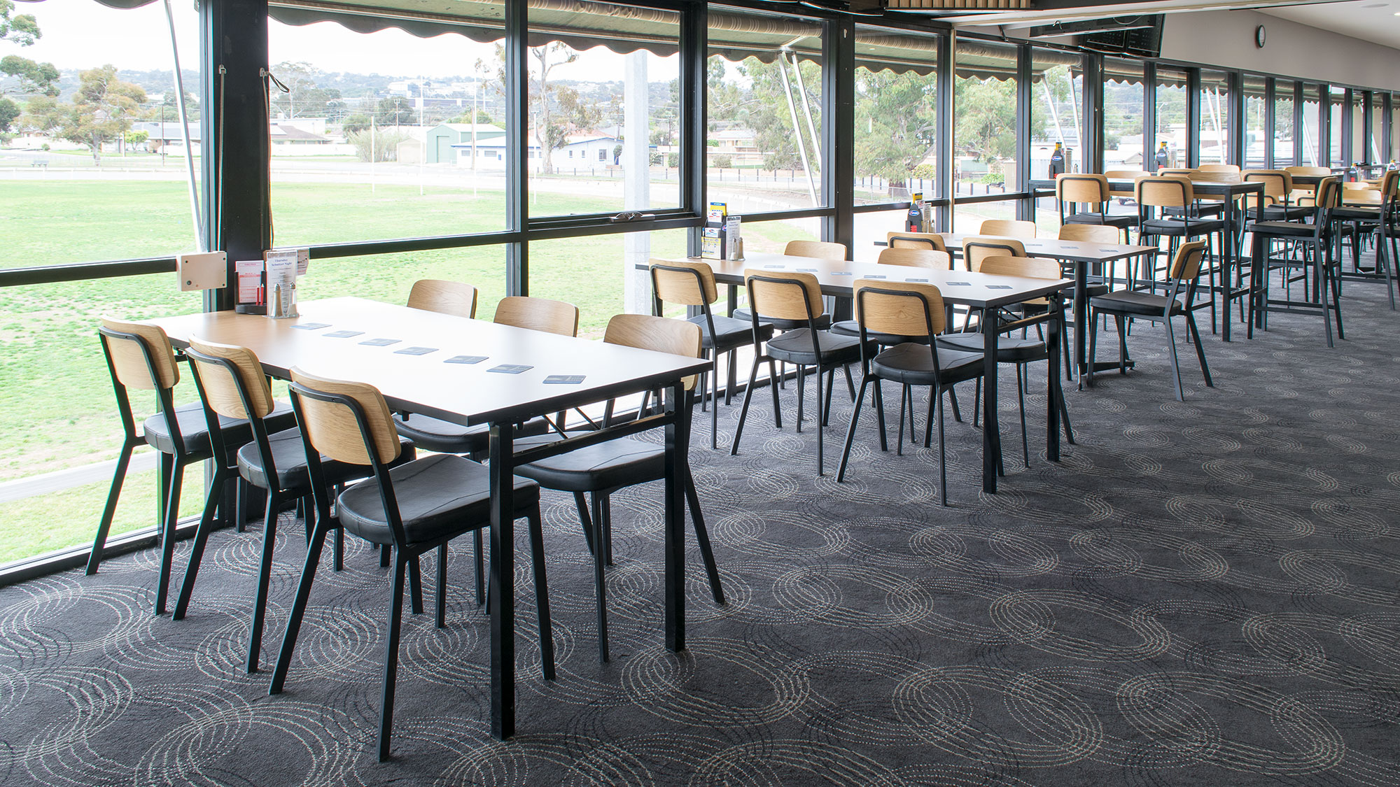 Club Marion Bar Chairs and Tables