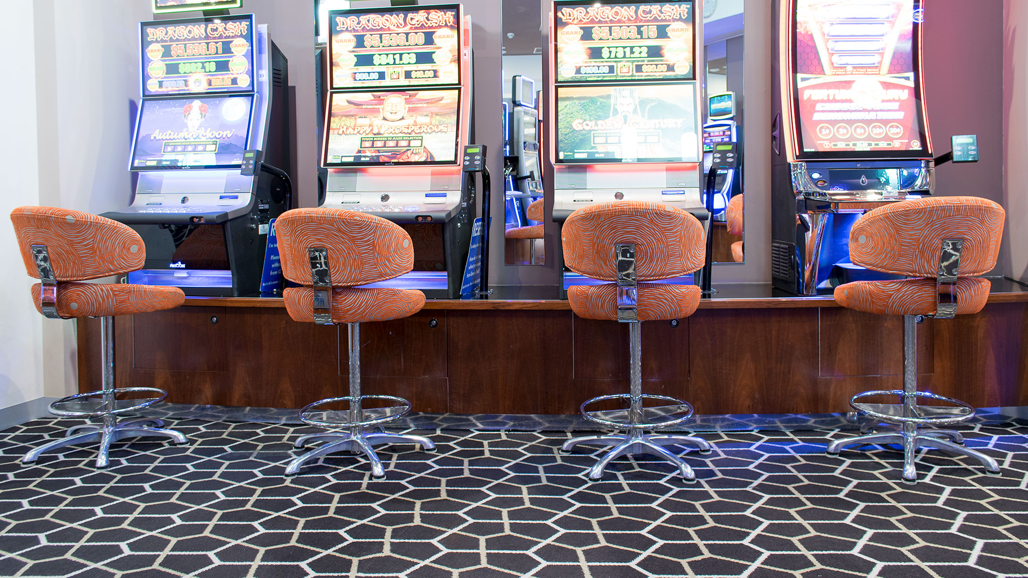 Club Marion Gaming Stools