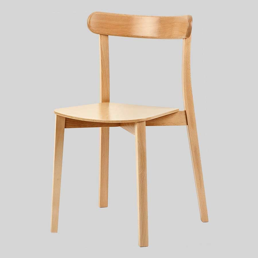 Michonne Timber Chair - Natural