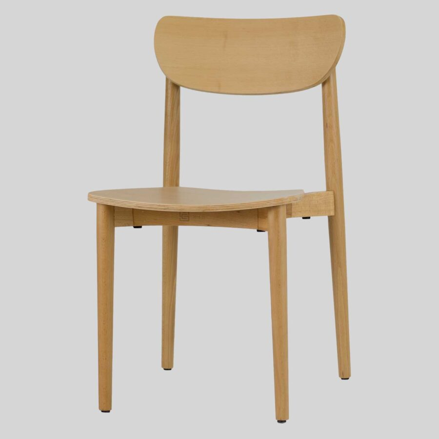 Stockholm Chair - Natural - Timber Seat