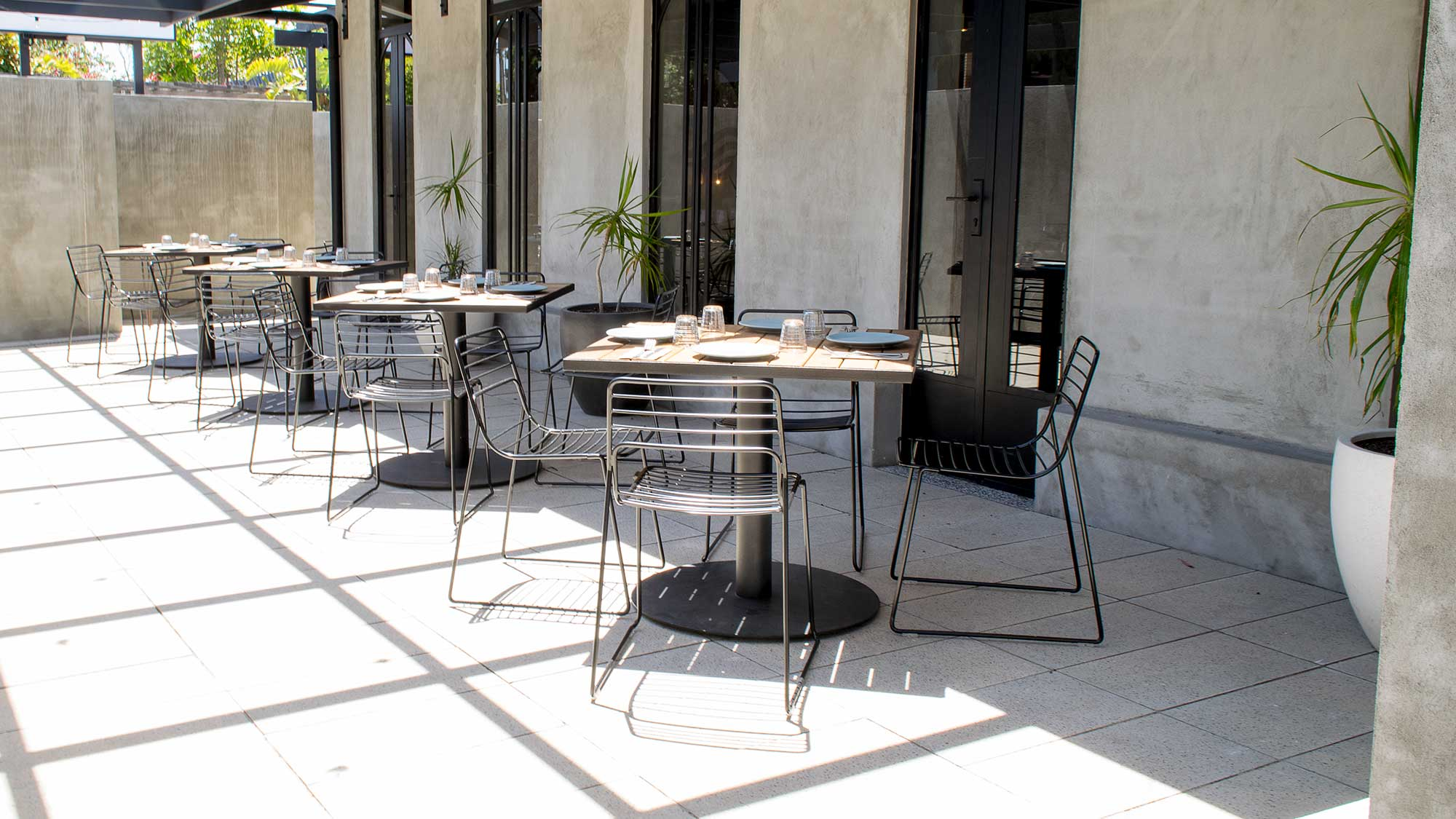 Coccobello Restaurant - Outdoor Chairs