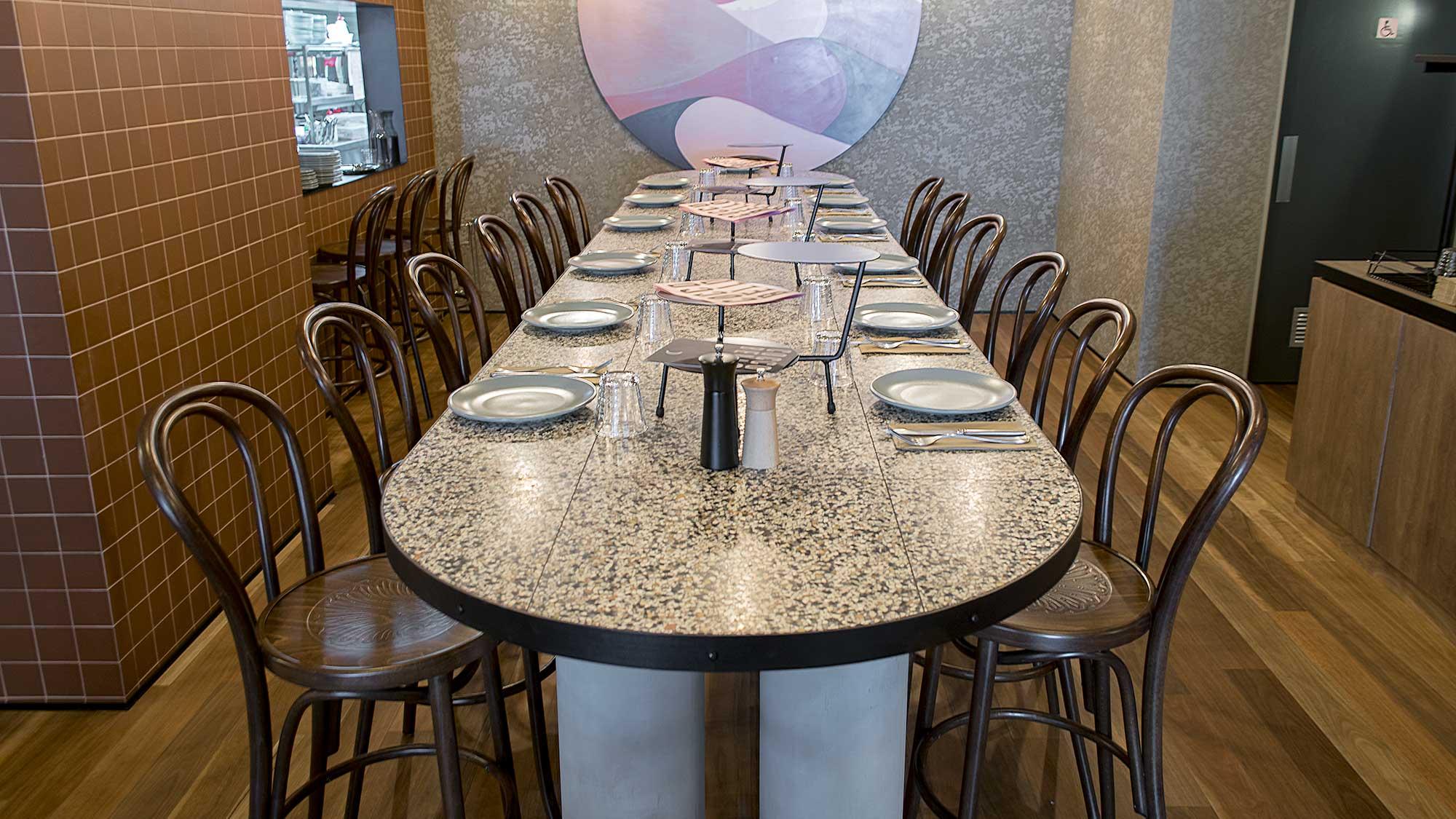 Coccobello Restaruant - Bentwood Barstools
