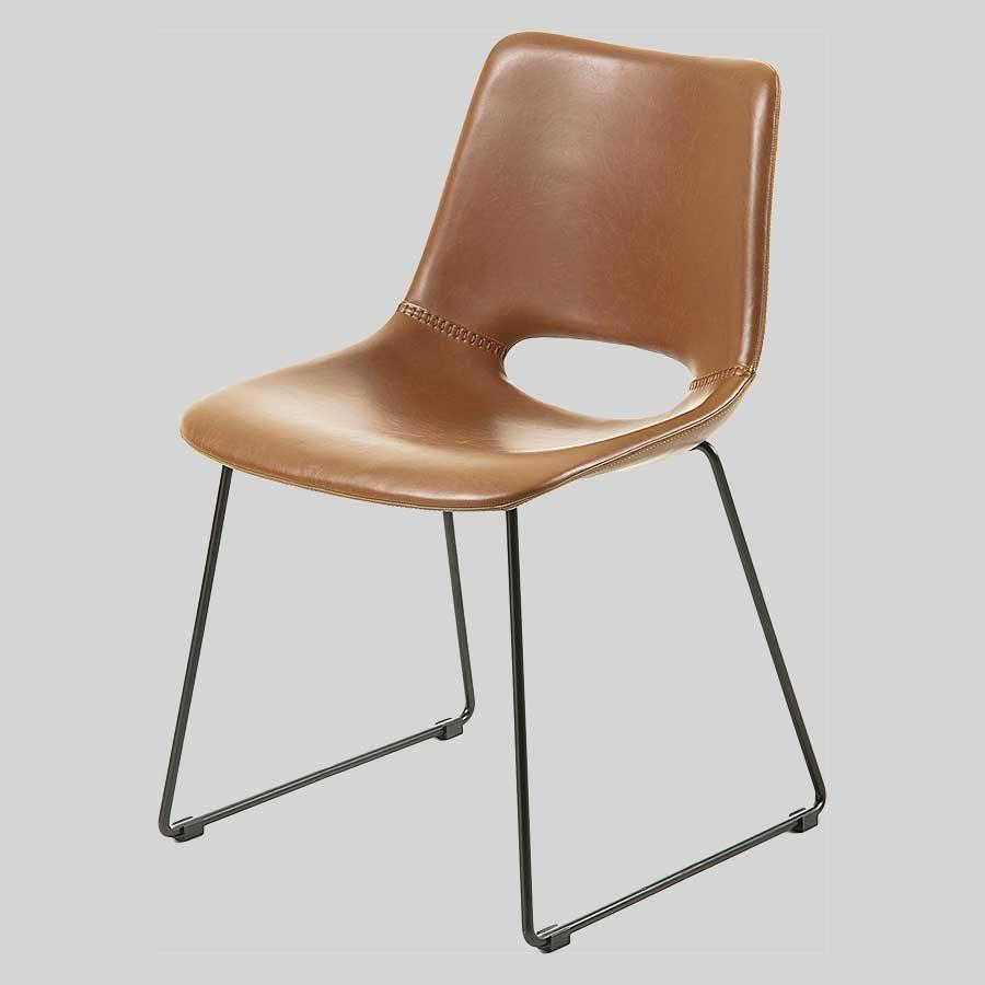 Bogart Chair - Rust