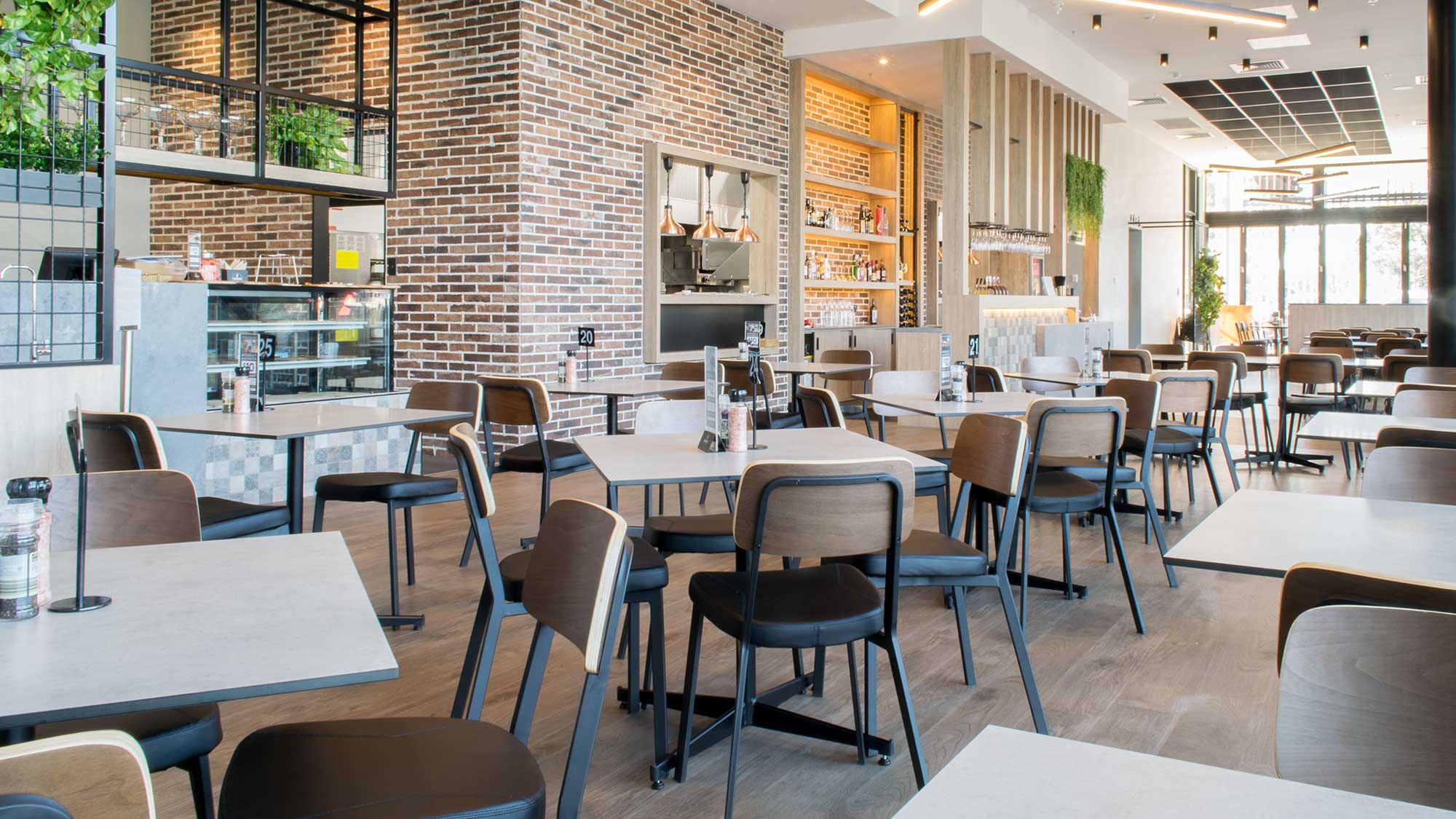 Hospitality Furniture at Saints Kitchen, Salisbury Plains SA