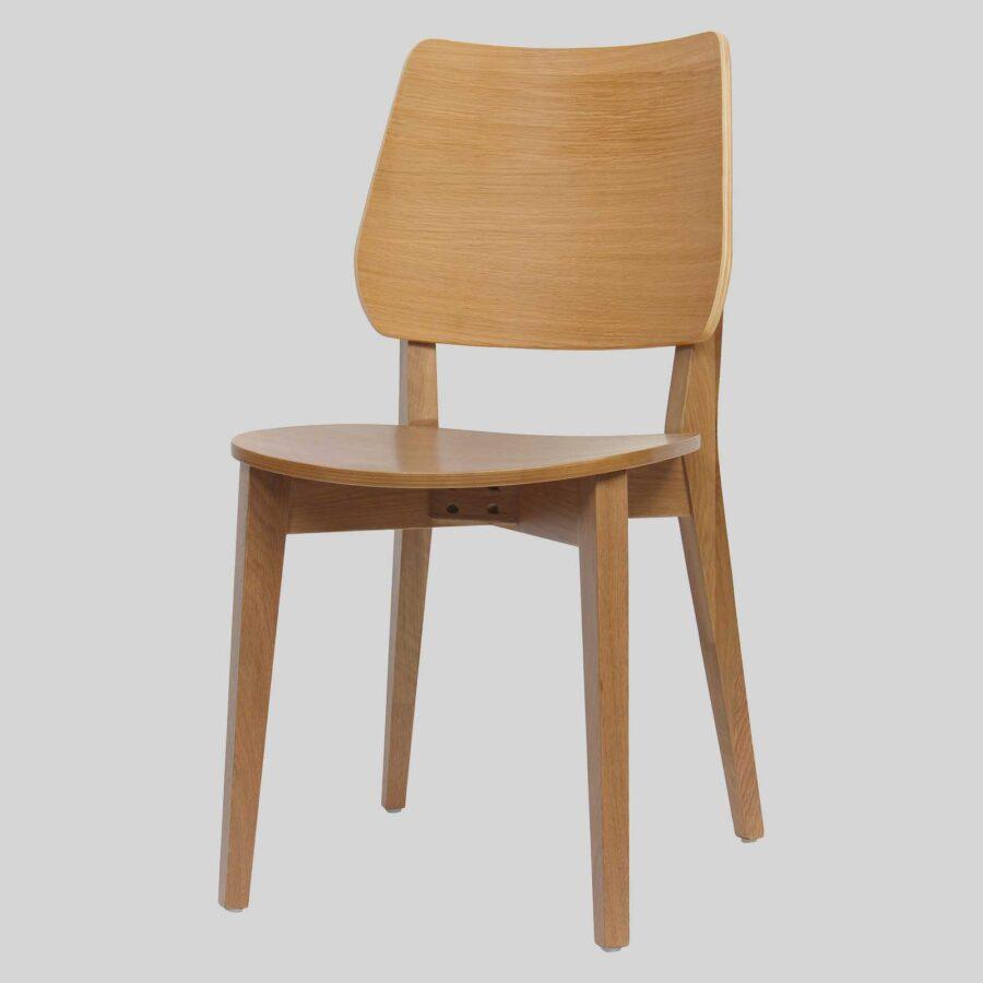 Kokoda Side Chair - Light Oak