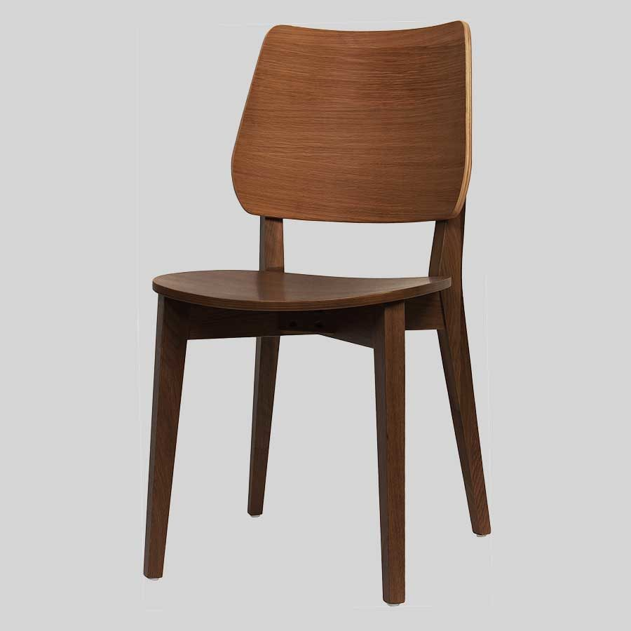 Kokoda Side Chair - Walnut