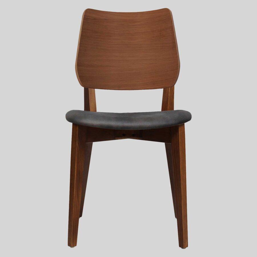 Kokoda Side Chair - Walnut with Eastwood Slate Seat