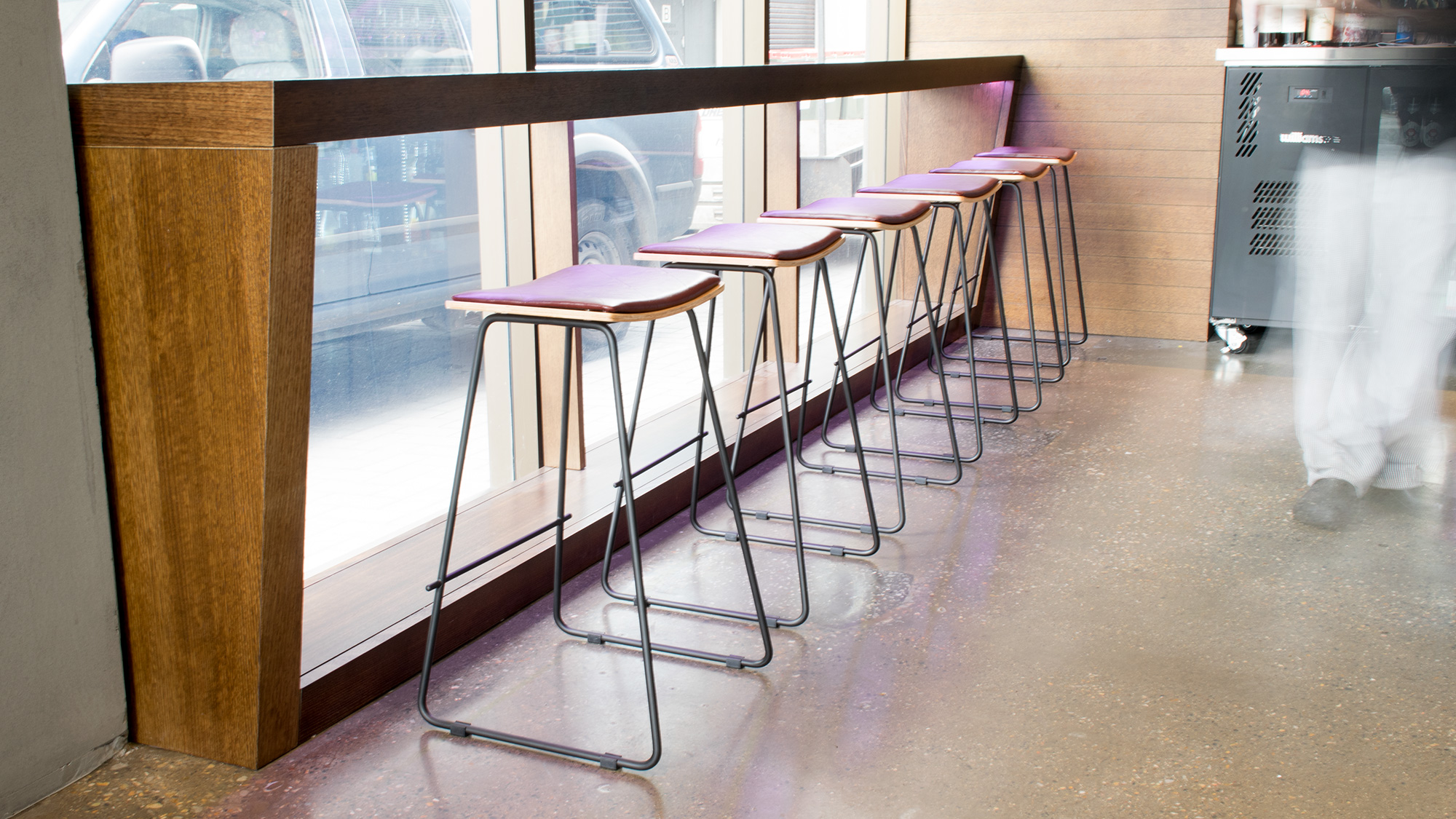Mimasu Restaurant Adelaide - Pi Counter Stools