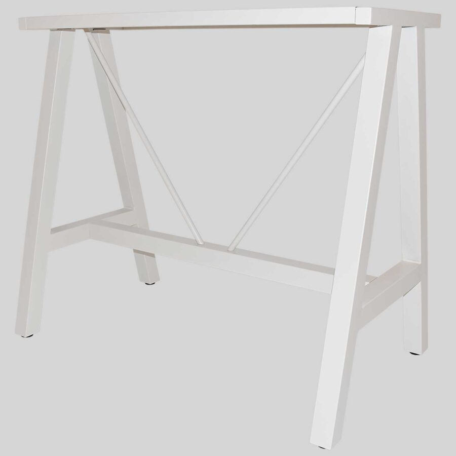 A-Frame 1200 Bar Base - White