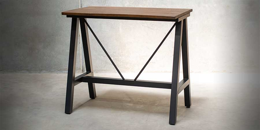 A-Frame (S) Bar Base - Black