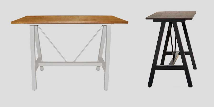 A-Frame Bar and Counter Table Bases