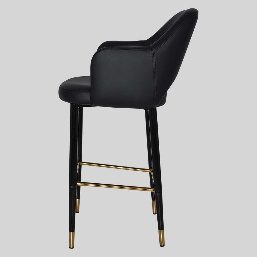 Mulberry Bar Stool with Arms