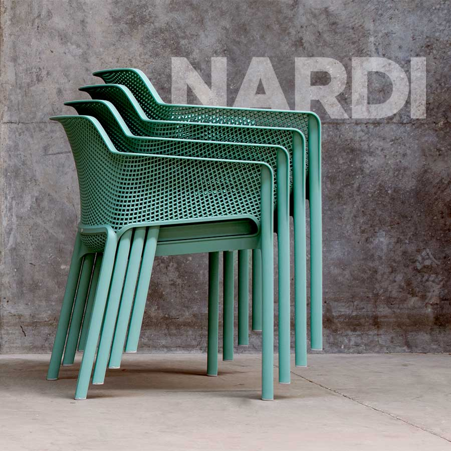 Net Armchairs by Nardi