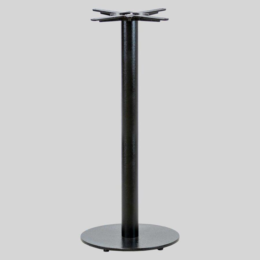 Carlton Cast Iron Restaurant Table Base - Bar Height- Black