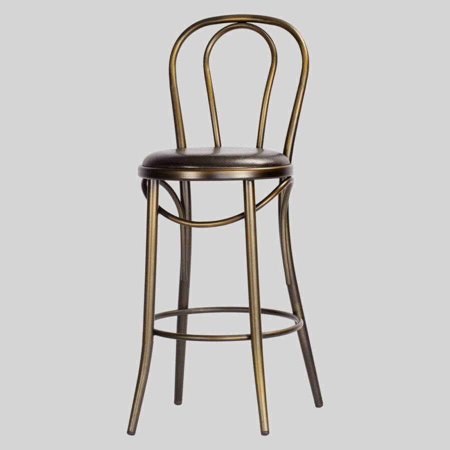 Coleman Bistro Counter Stool with Backrest