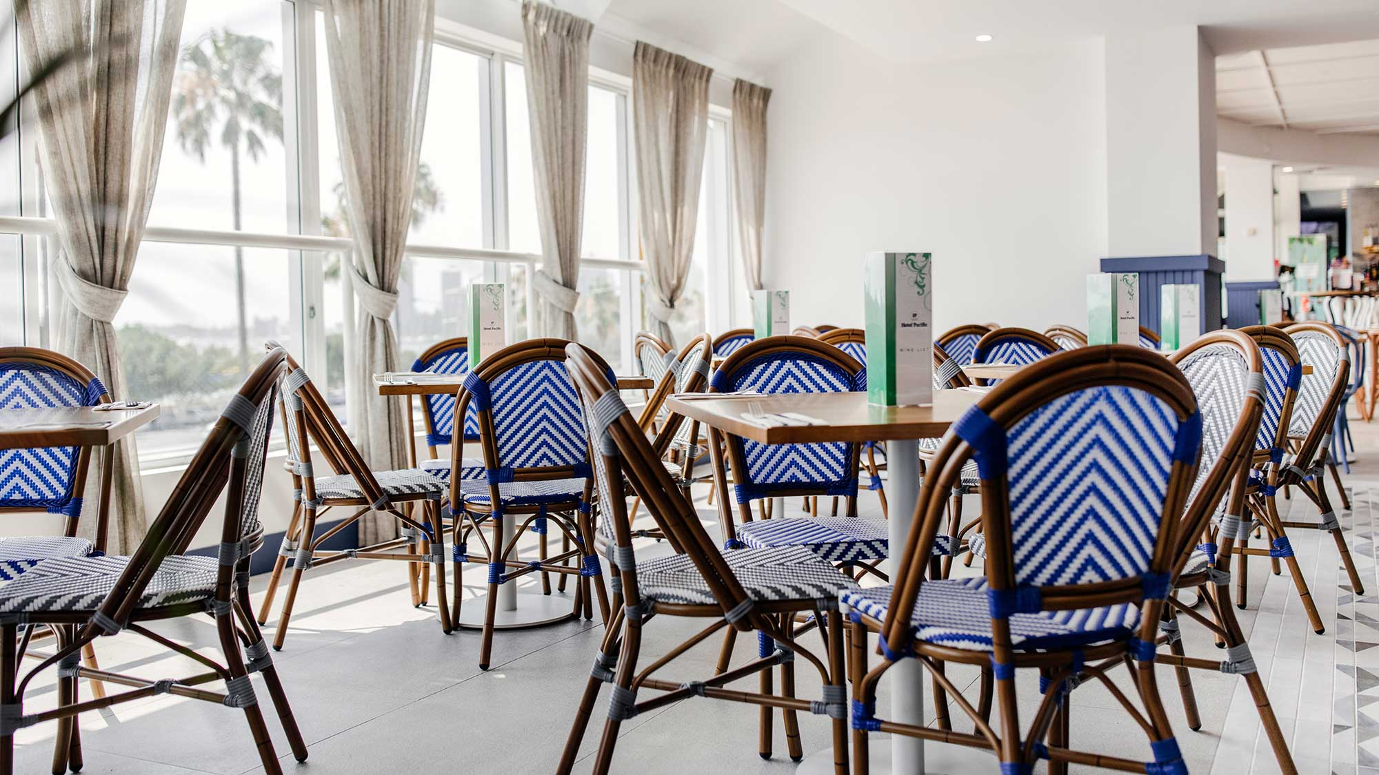 Jasmine Chairs | Hotel Pacific, Southport QLD