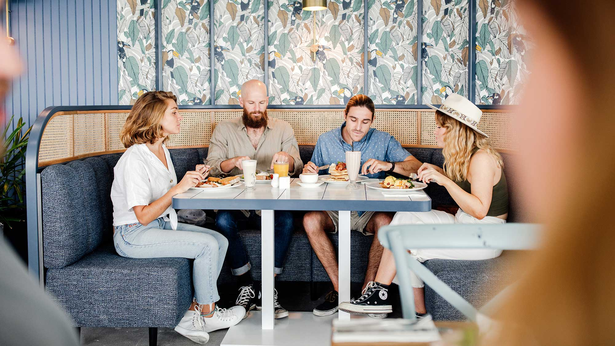 Custom Tiled Tables | Hotel Pacific, Southport QLD