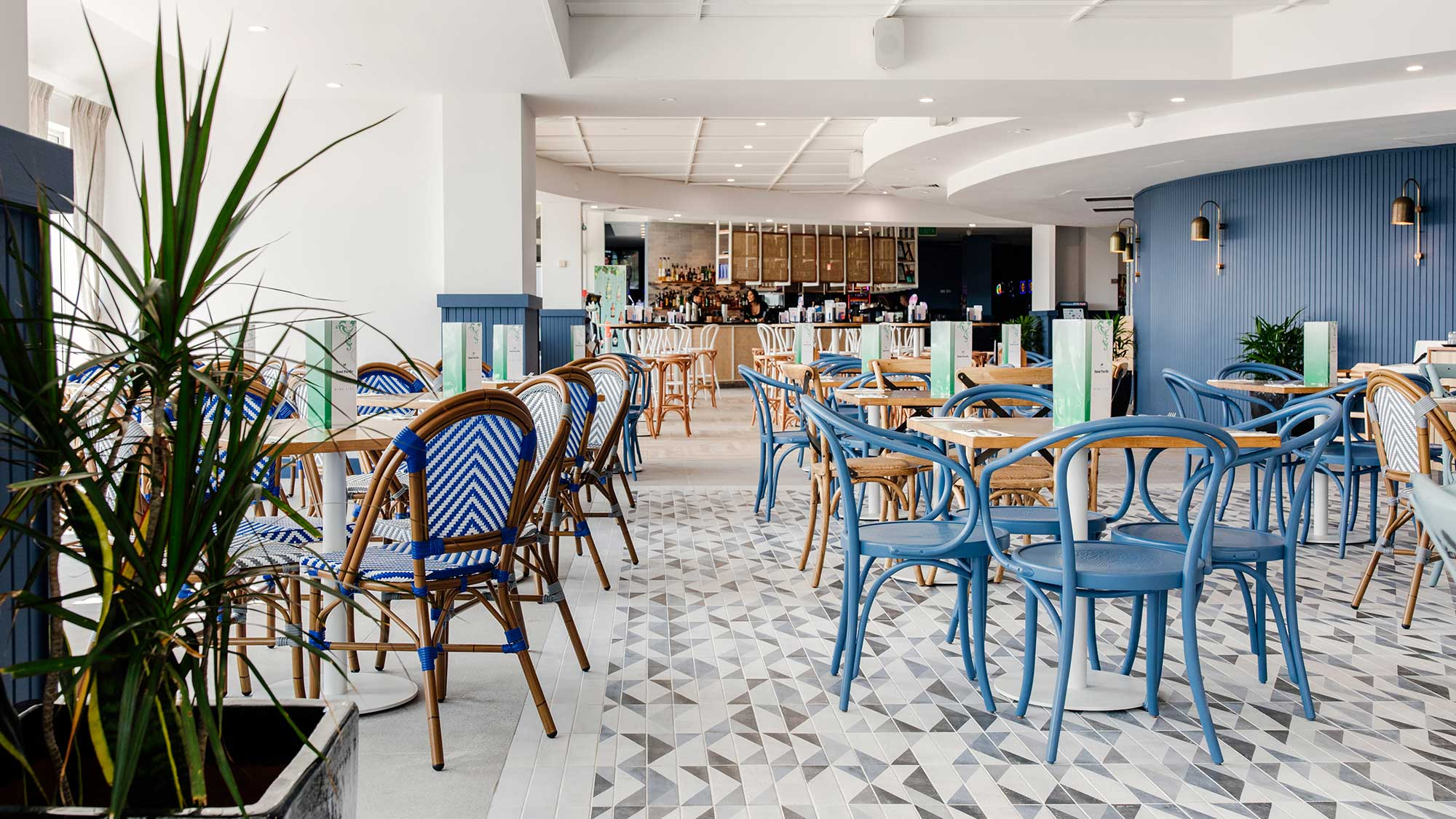 Jasmine & Bentwood Chairs | Hotel Pacific, Southport QLD
