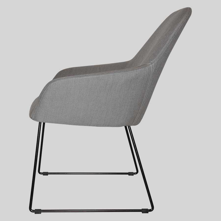 Monte Tub Chair with sled leg