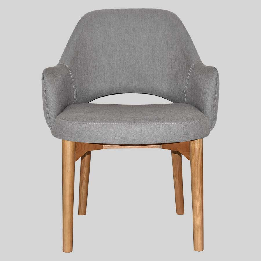 XL Mulberry Tub Chair with timber legs