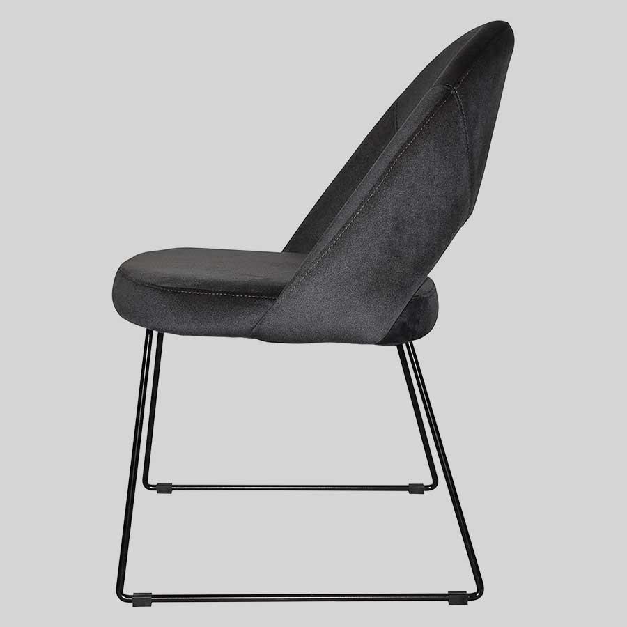 Saffron Chair with Sled Leg