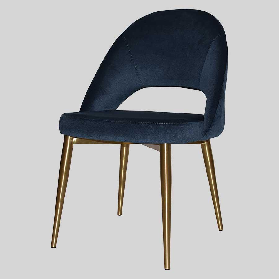 Saffron Chair with Metal Legs