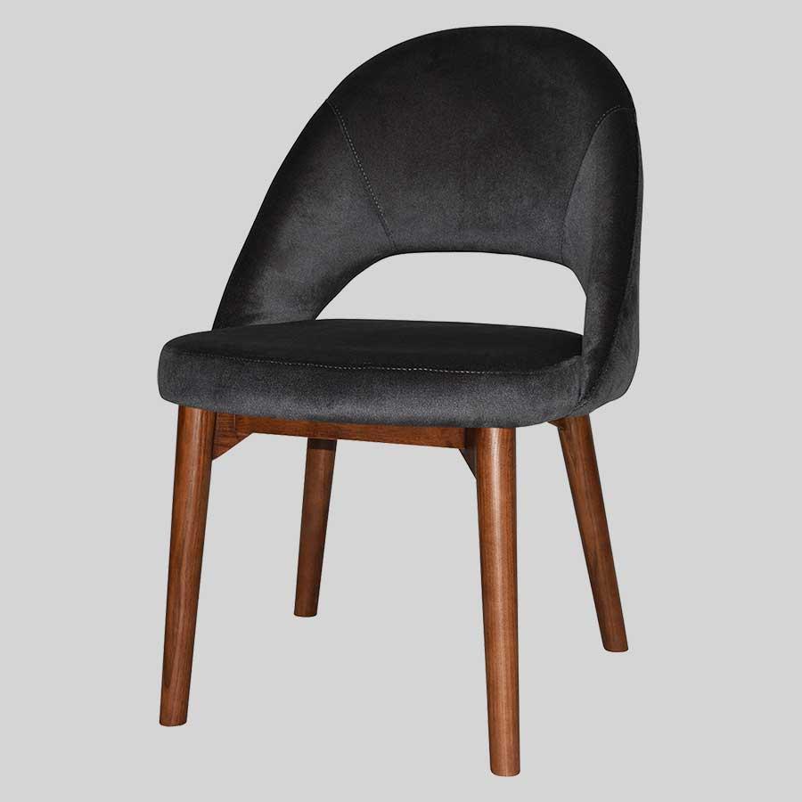 Saffron Chair with Timber Leg