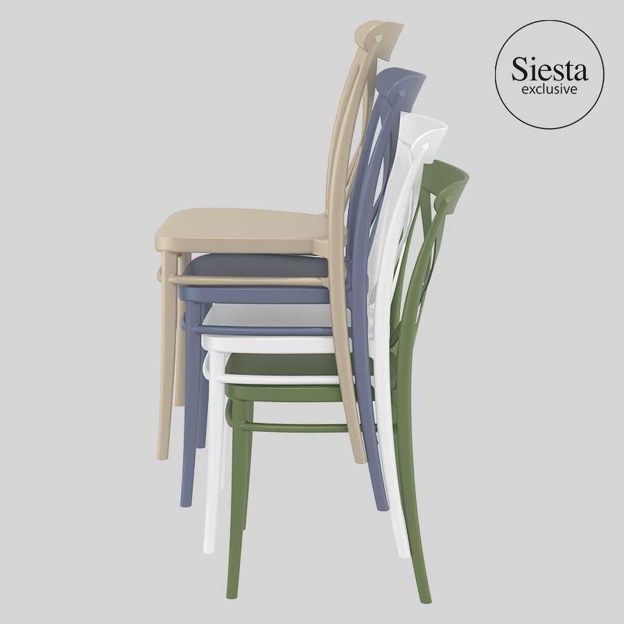 Cross Chair by Siesta