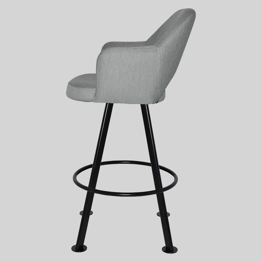 Mulberry Club Bar Stool with Arms