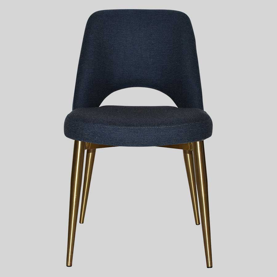 Mulberry Chair with metal leg
