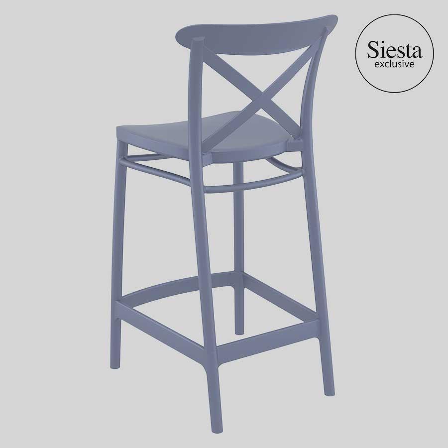 Cross Counter Stool by Siesta