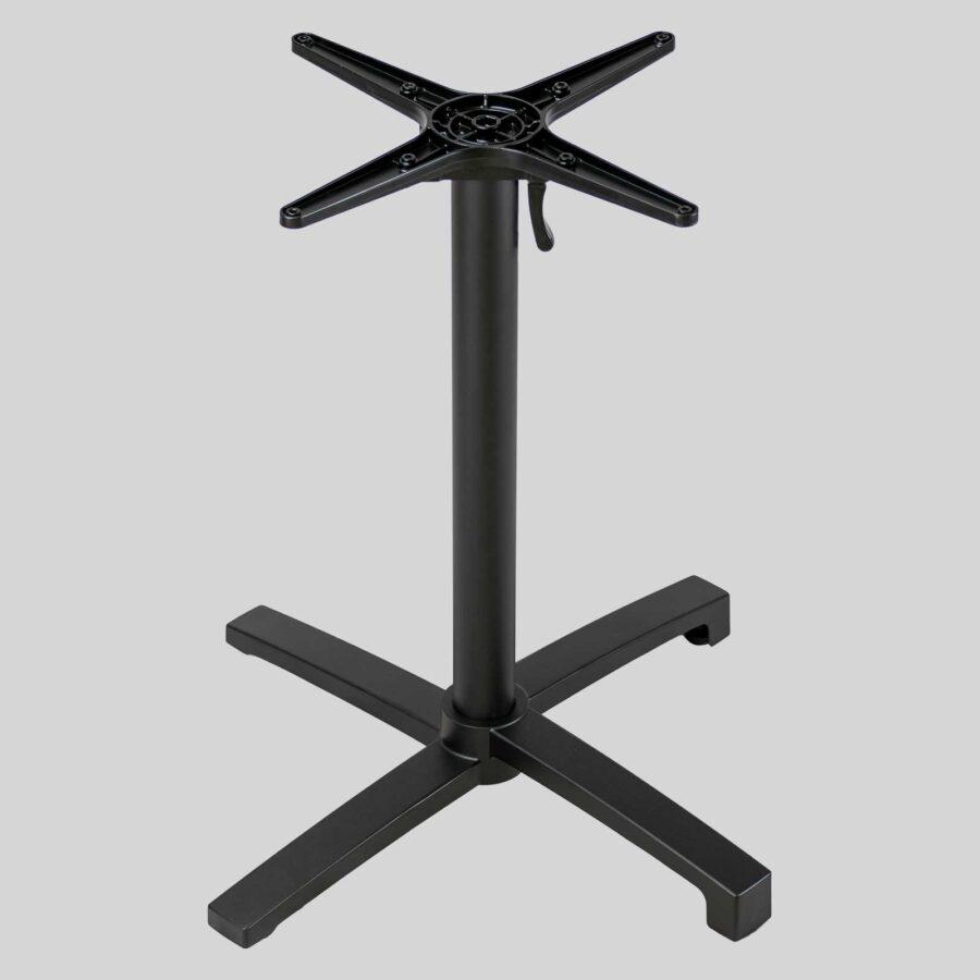 Filip Flip-Top Folding Table Base - Black