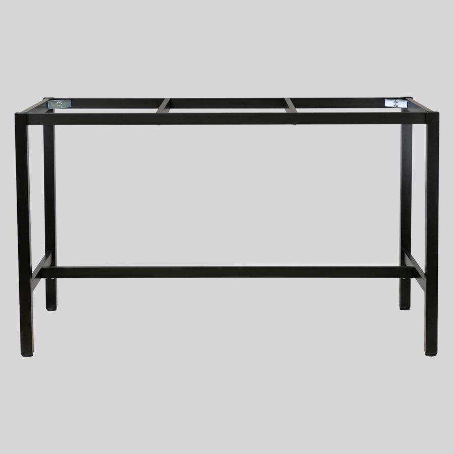 Henley Outdoor Bar Table - 1790x790 - Black